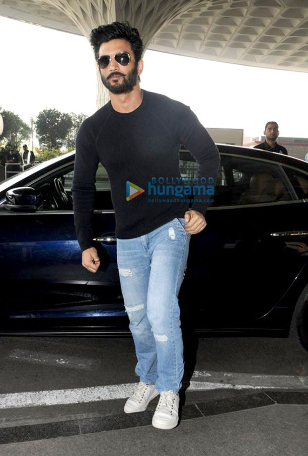Sushant Singh Rajput sports the bearded avatar and it is gaining attention for all the right reasons!