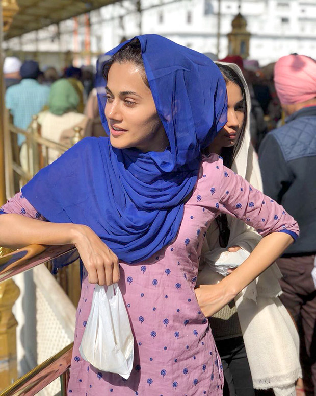 Taapsee Pannu, Vicky Kaushal kickstart Manmarziyaan after seeking blessings at Golden Temple
