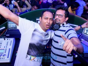 Taapsee Pannu and Saqib Saleem promote 'Dil Juunglee' at The Theatre Club & Lounge
