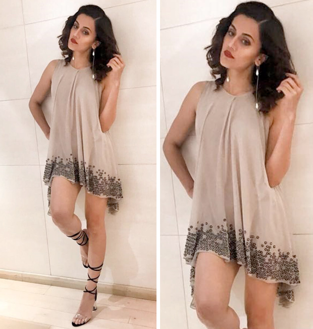 Taapsee Pannu gets her party game on fleek