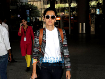 Deepika Padukone, Elli Avram, Emraan Hashmi and others snapped at the airport