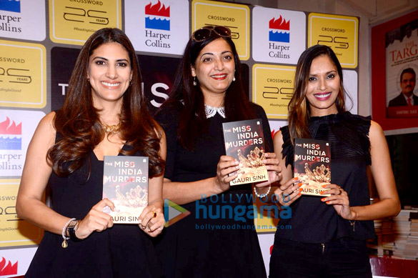 Ujjwala Raut and Parizad Kolah launch Gauri Sinh's latest mystery novel at Crossword bookstore
