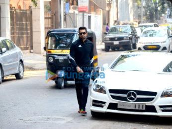 Upen Patel snapped in Bandra