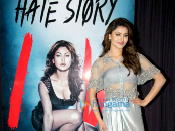 Urvashi Rautela snapped at the T- Series office in Andheri