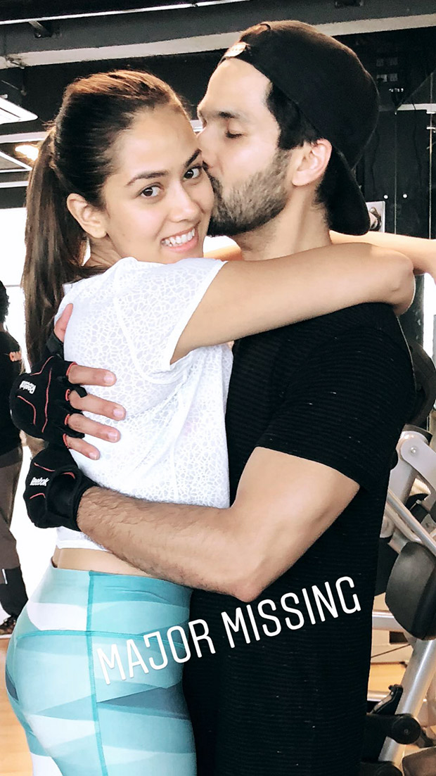 Valentine's Day: Mira Rajput is 'majorly missing' hubby Shahid Kapoor; shares a PDA filled gym picture