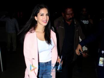 Vidya Balan and Sunny Leone snapped at the airport