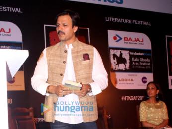 Vivek Oberoi graces 'Kala Ghoda Arts Festival 2018'