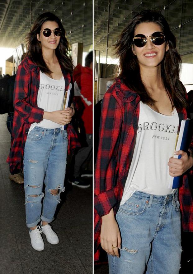 Weekly Airport Style: Kriti Sanon