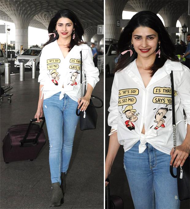 Weekly Airport Style: Prachi Desai