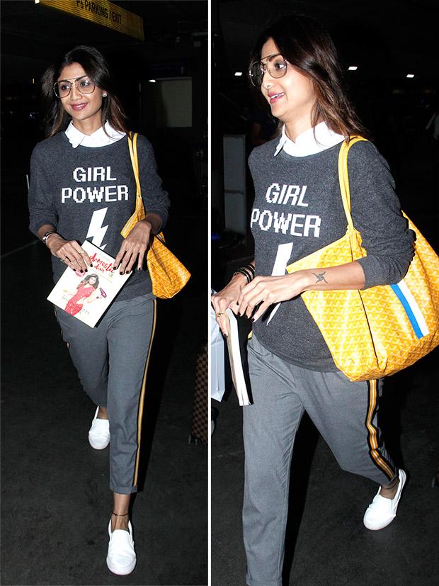 Weekly Airport Style: Shilpa Shetty