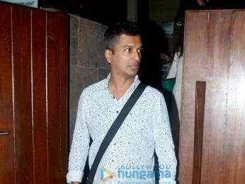 Zoya Akhtar, Vikram Phadnis and Shweta Nanda snapped in Mumbai