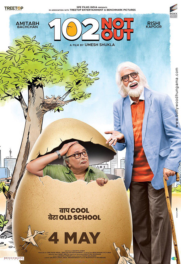 102 NOT OUT (2018) con AMITABH BACHCHAN + Jukebox + Sub. Español + Online 102-Not-Out