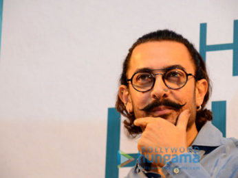 Aamir Khan launches Manjeet Hirani's book 'How To Be Human'
