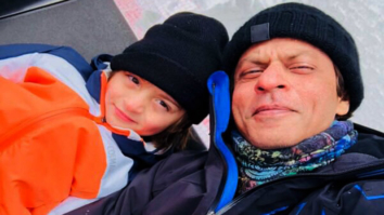 Lil big Man AbRam skiing with papa Shah Rukh Khan will help you beat the Mumbai summers