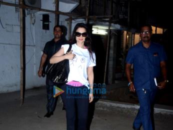 Ameesha Patel snapped at Kromakay in Juhu