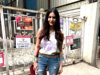 Amyra Dastur snapped in Mumbai