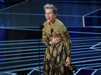 Best Actress Frances McDormand brings the house down with her 'inclusion rider' speech at Oscars 2018