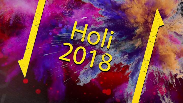 Bollywood Hungama Wishes Happy Holi 2018