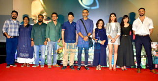 Celebs grace the launch of the track 'Badla' song from the film Blackmail
