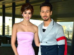 Disha Patani and Tiger Shroff for Baaghi 2 promotions