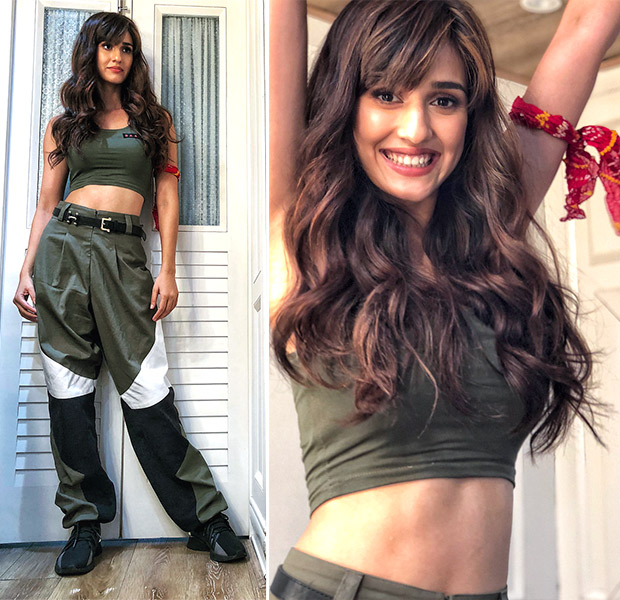Disha Patani for Baaghi 2 promotions in Deme by Gabriella