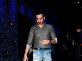 Emraan Hashmi spotted with his friends at Hakkasan