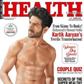 Kartik Aaryan On The Cover Of Health