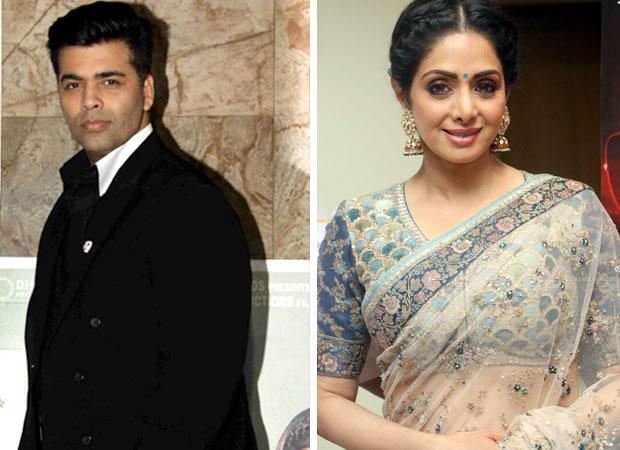 Is Karan Johar planning to shelve Shiddat which was to star Sridevi?