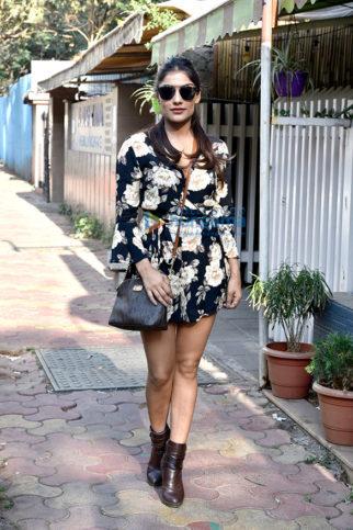 Ishita Raj Sharma snapped during a photo shoot