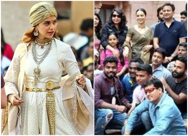 It's a wrap for Kangana Ranaut starrer Manikarnika- The Queen of Jhansi