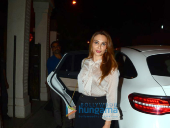 Iulia Vantur spotted after dinner in Bandra