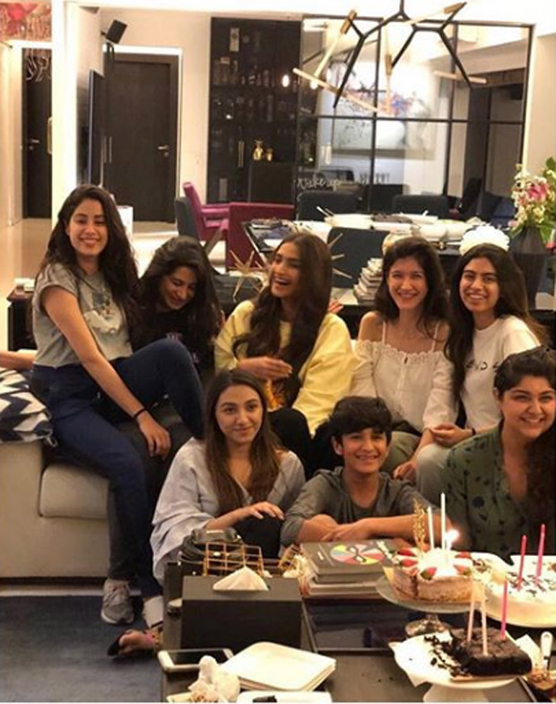 Janhvi Kapoor birthday: Sonam Kapoor, Anshula Kapoor unite to make Sridevi's daughter's D-Day special