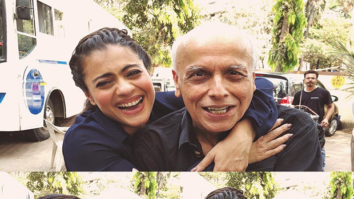 Kajol and Mahesh Bhatt share fun moments on the sets of Eela