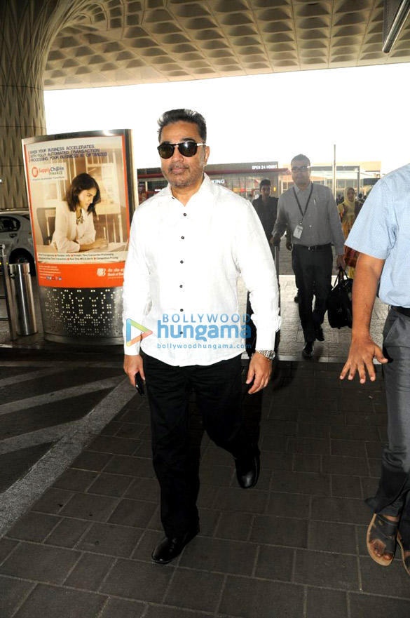 Kamal Haasan, Boney Kapoor, Huma Qureshi and others snapped at the airport