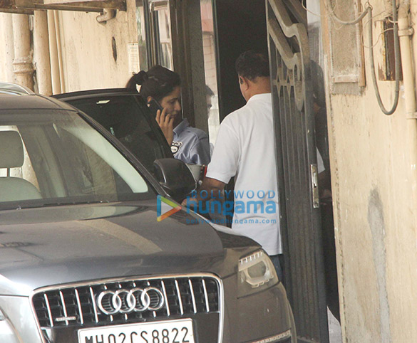 Katrina Kaif snapped outside the gym in Bandra