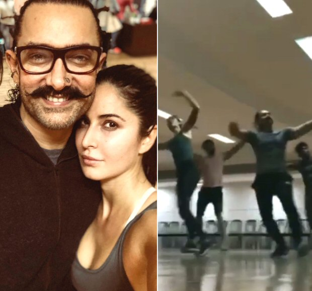 Katrina Kaif welcomes Aamir Khan on Instagram; gives a glimpse of Thugs of Hindostan dance routine