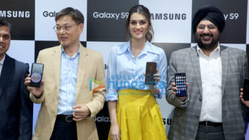 Kriti Sanon snapped at Samsung launch event
