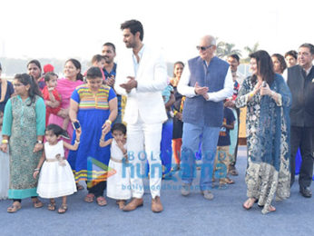 Kunal Kapoor snapped at Wadia Gold Cup 2018 with Wadia Hospital patients