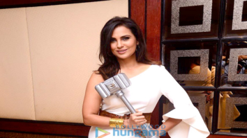 Lara Dutta snapped attending the launch of the show High Fever