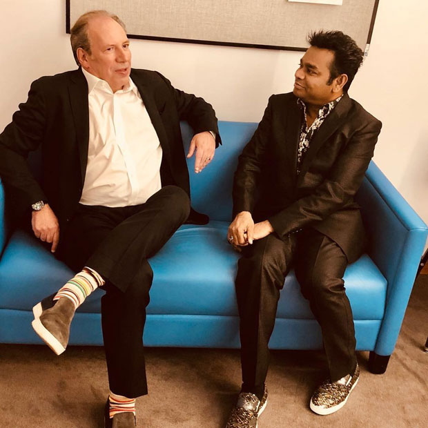 Legends AR Rahman and Hans Zimmer met at the Oscars 2018 concert