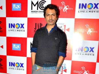 Nawazuddin Siddiqui and others snapped at Bolti Khidkiyaan short film screening
