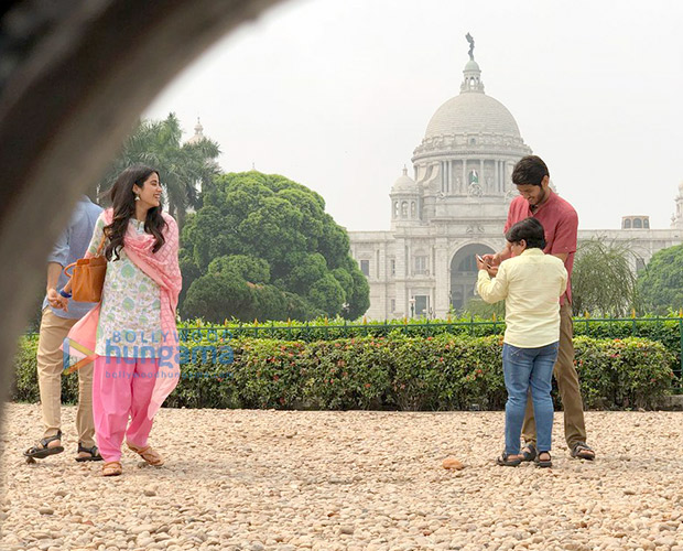 PICS: Janhvi Kapoor and Ishaan Khatter shoot for Dhadak in Kolkata and it is going viral