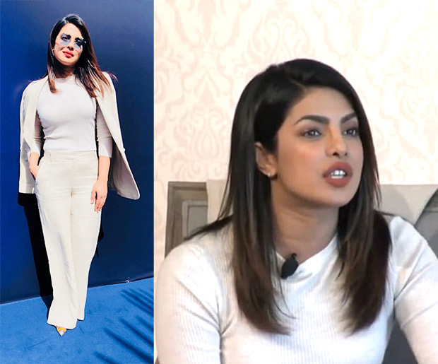 Priyanka Chopra at the GESF Discussion in Dubai in Theory separates