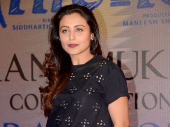 Rani Mukerji introduces Brad Cohen the real inspiration behind Hichki to the media