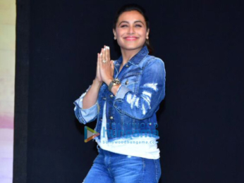 Rani Mukerji snapped at Hichki success party