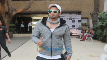 Ranveer Singh spotted at Otters Club