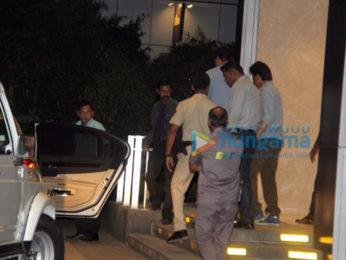Shah Rukh Khan snapped at BKC