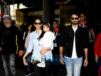 Shahid Kapoor, Mira Rajput And Elli Avram others snapped at the airport