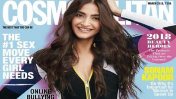 Sonam Kapoor On The Cover Of Cosmopolitan