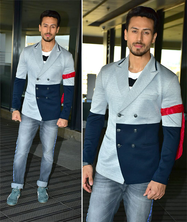 Tiger Shroff keeping it dapper for Baaghi 2 promotions